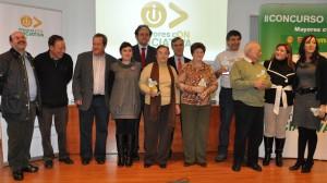Ganadores de una de las ediciones de Mayores cON Iniciativa