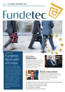 Portada de la revista Fundetec